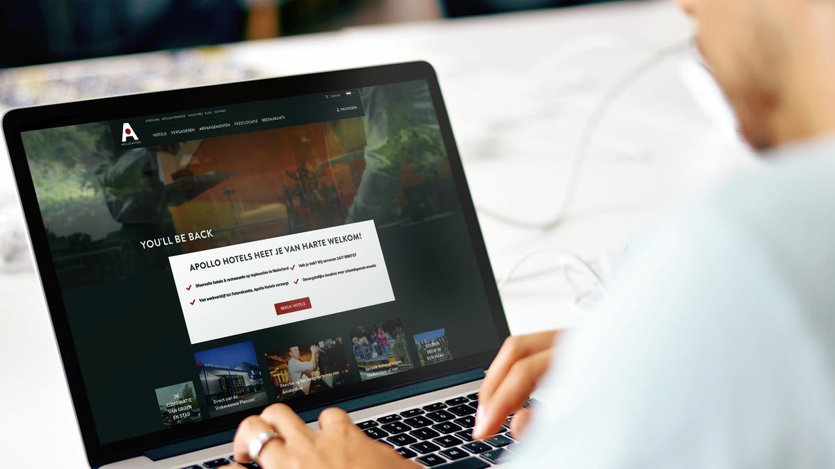 Nieuwe website, helemaal in stijl én met een innovatieve boekingsmodule.