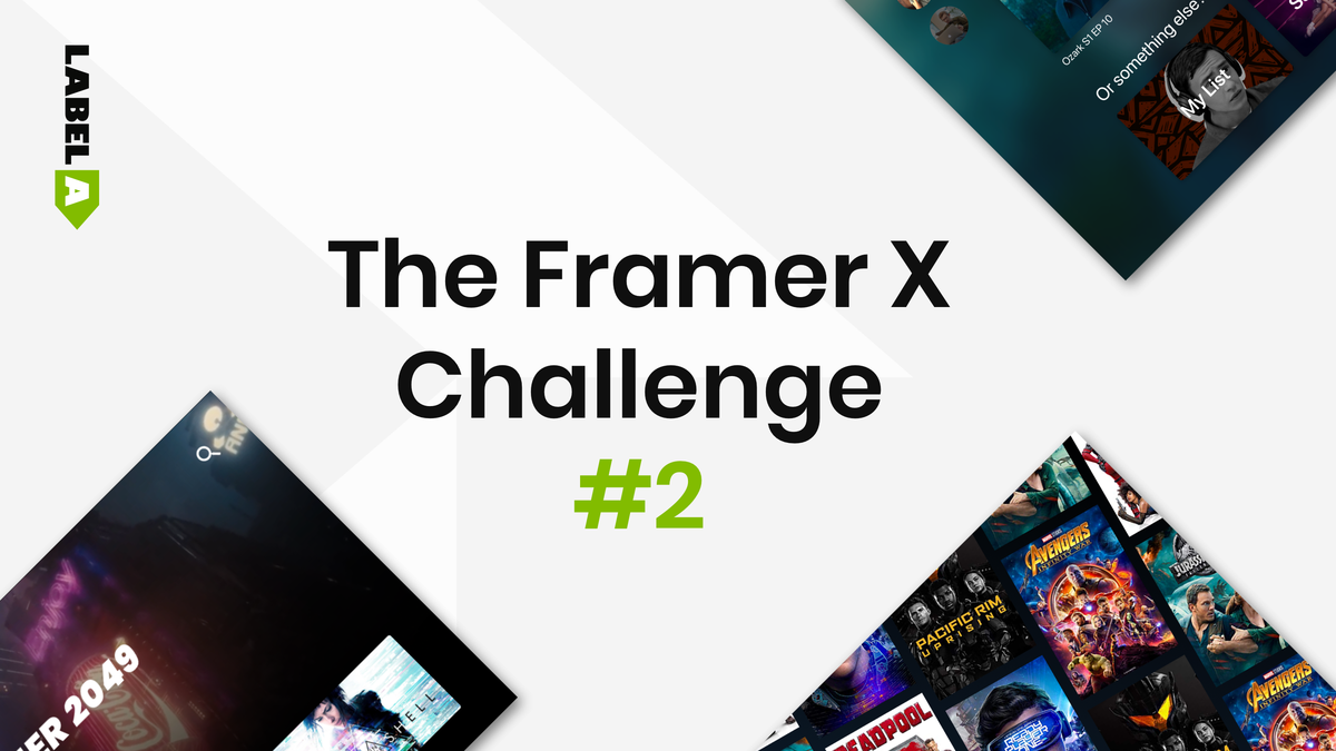 The Framer X Challenge - Edition 2
