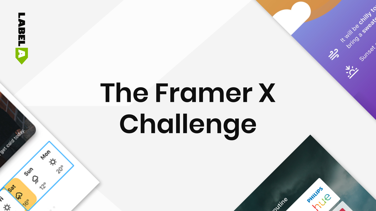 The Framer X Challenge - Edition 1