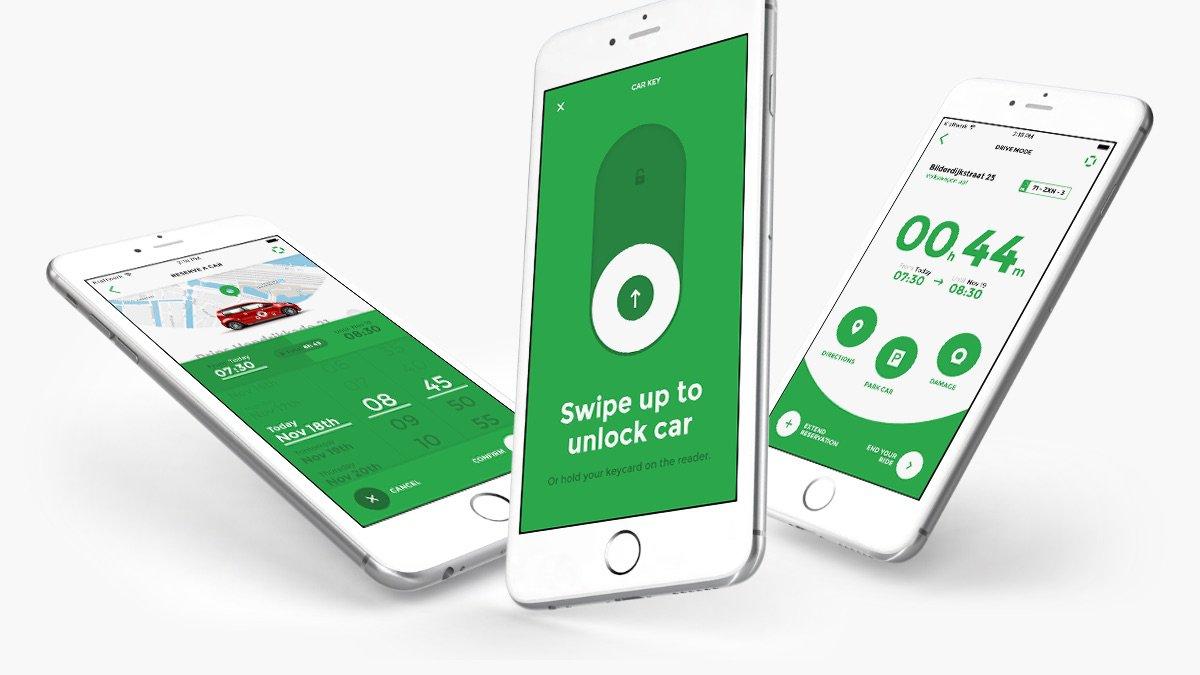 Het registreren van een auto loopt volledig digitaal