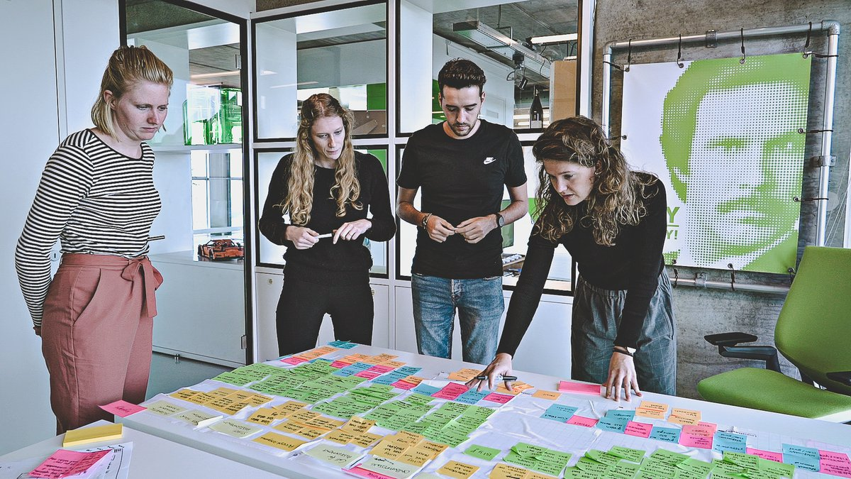 In de toekomst kijken met een Google Design Sprint