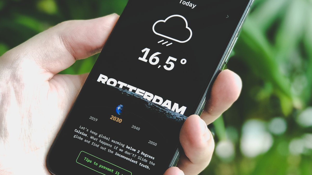 Design Challenge - Weather app
