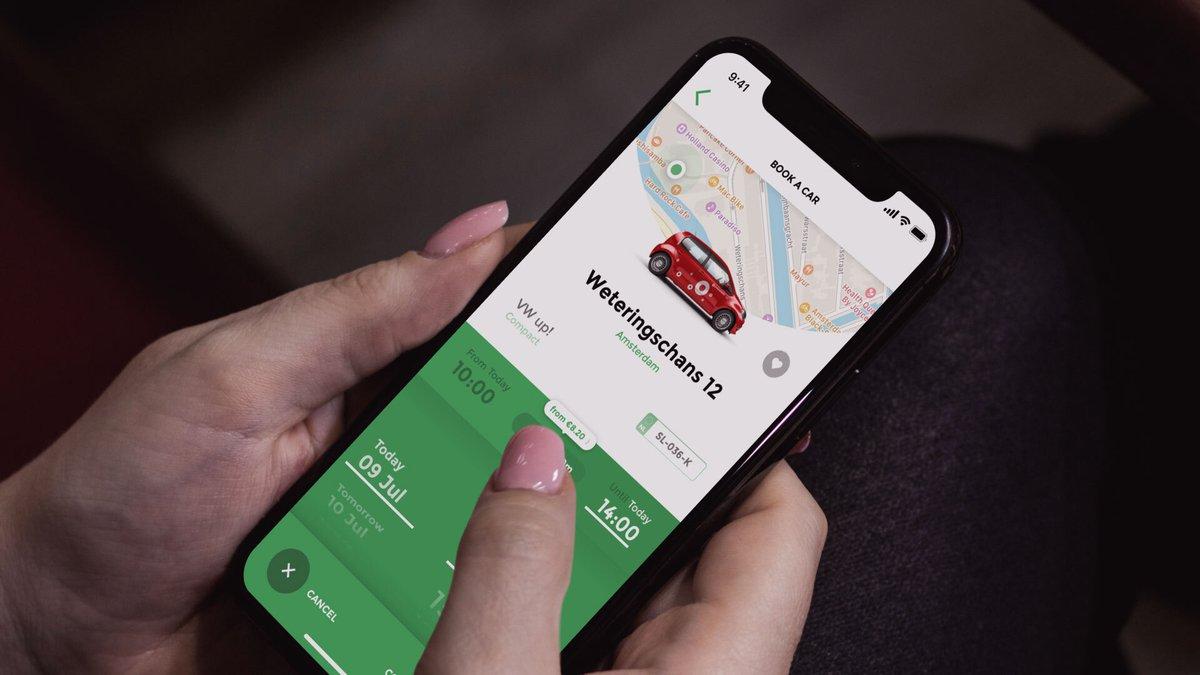 Nog sneller en gemakkelijker een deelauto gebruiken
